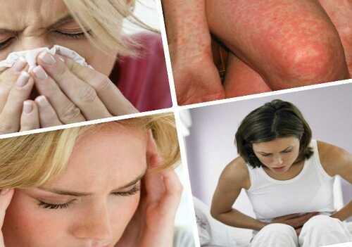 аллергия симптомы у взрослых