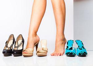 Обувать туфли
