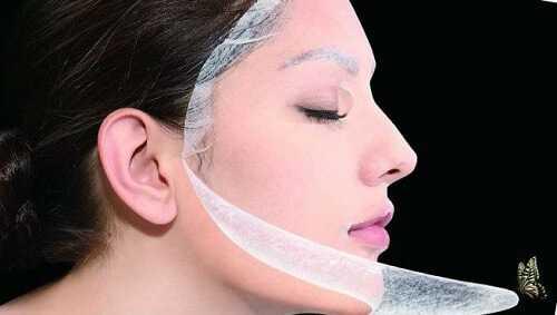 Защитная плёнка дермы на лице