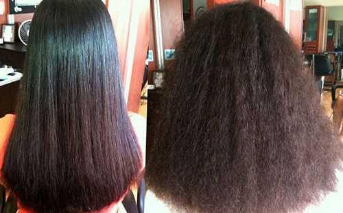 Ламинирование волос до и после процедуры