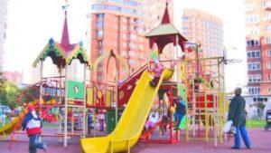 Травмы на детской площадке