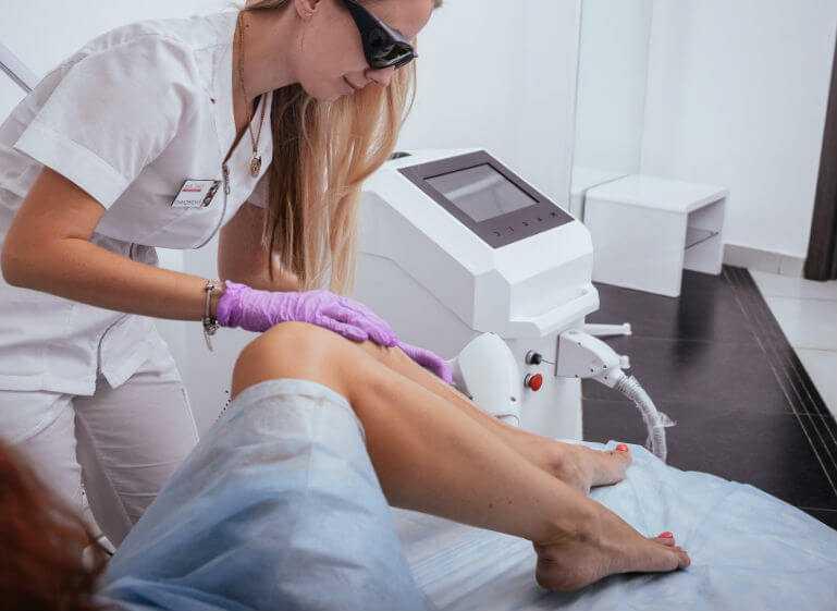 Диодный лазер используется в косметологии