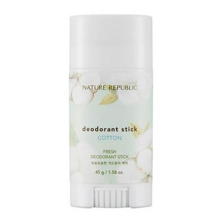 Nature Republic Fresh deodorant stick - cotton