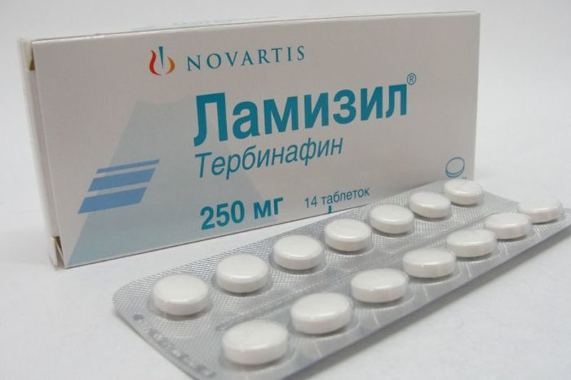 Ламизил таблетки от грибка ногтей