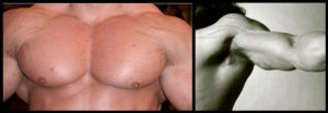 растяжки на груди и лечение
