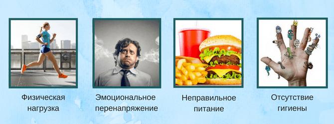 Физиологические факторы запаха пота