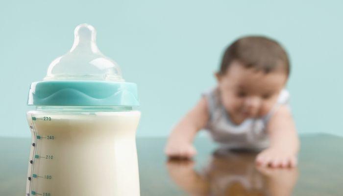 Соска с молоком