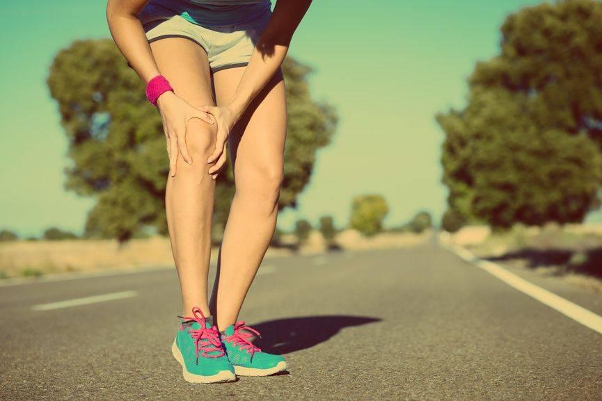 Коленные боли при беге