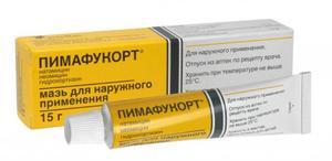 Форма выпуска препарата Пимафукорт