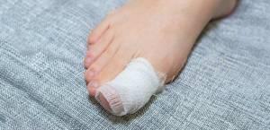 Масляный компресс на ногти