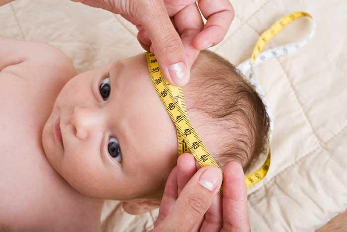 Псевдокиста в голове у новорожденного ребенка