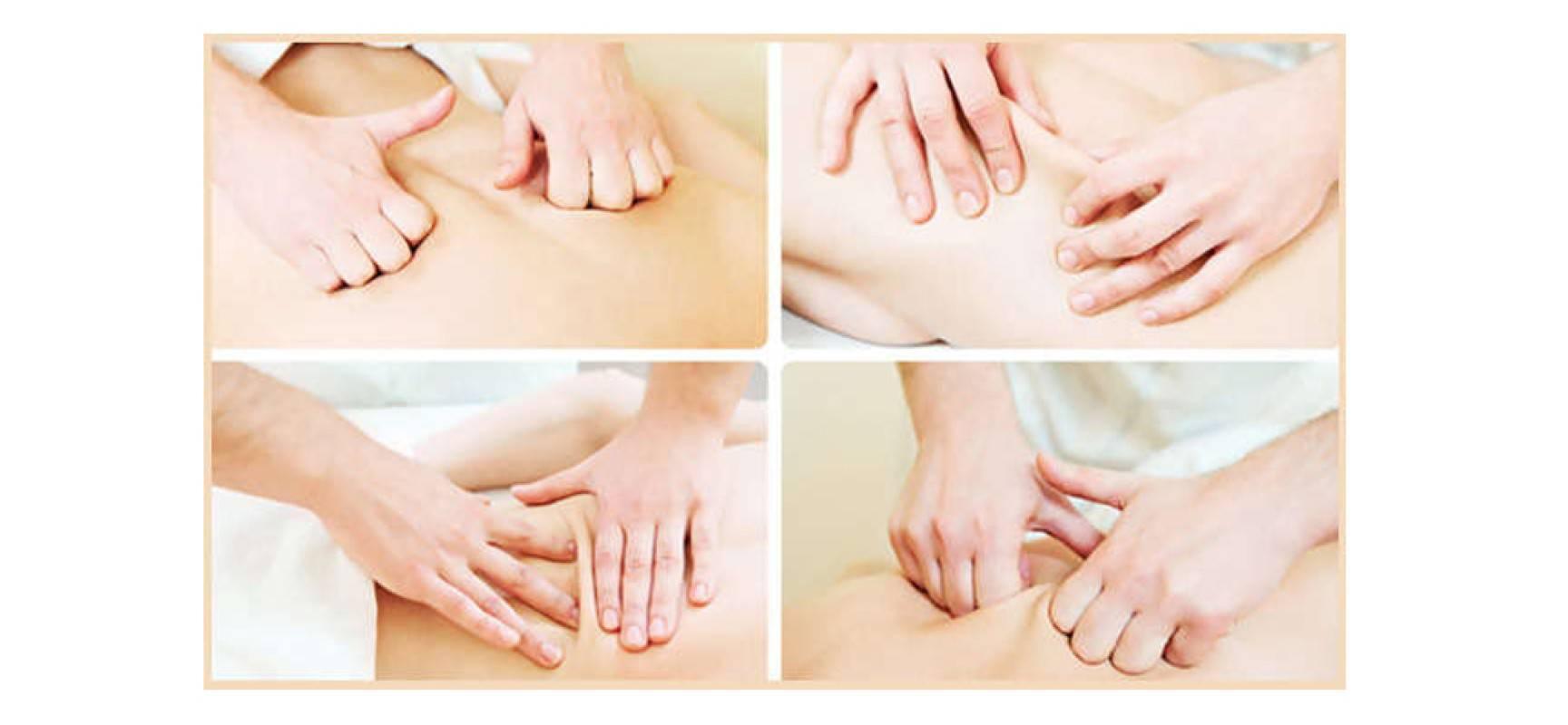 Основные движения для массажа