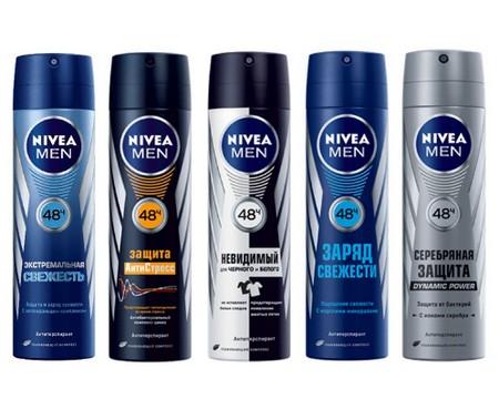 Мужские дезодоранты, антиперспиранты от Nivea for men
