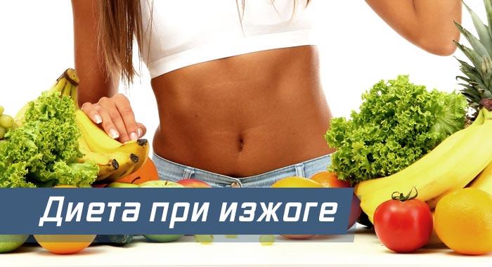 диета при изжоге правильное питание меню его