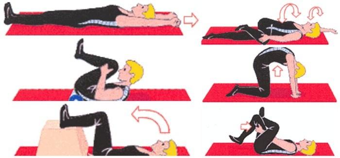 Противостояние дегенеративному процессу разрушения: польза гимнастики при грыже пояснично-крестцового отдела позвоночника