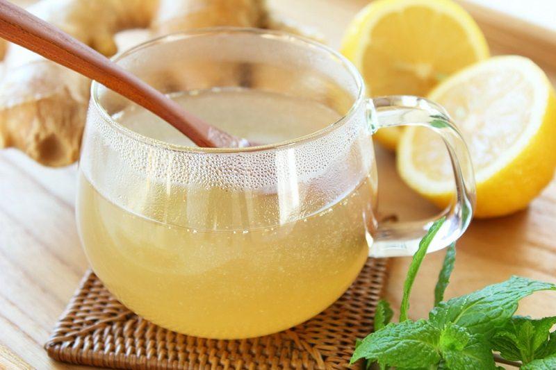 Вода, соль, лимон