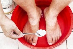 Ванночка для лечения грибка