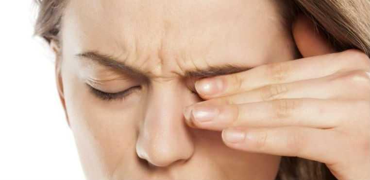 боль в глазах после наращивания