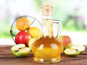 Яблочный уксус от потливости