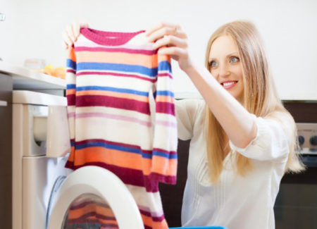 Убираем неприятный запах пота с одежды